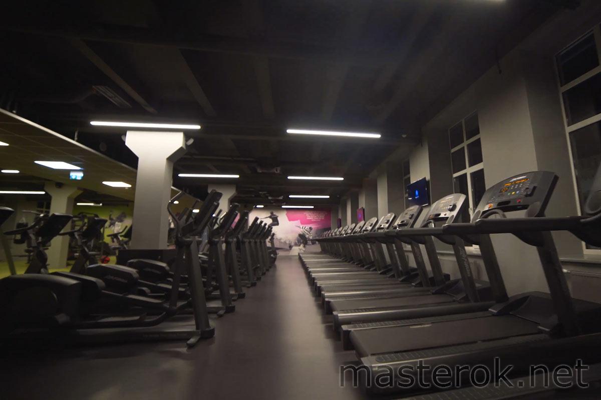 Ремонт фитнес клуба